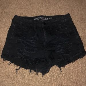 American Eagle Ripped shorts.